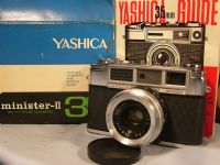 '   II BOXED ' Yashica Minister II Boxed Rangefinder Vintage Camera c/w Focal Inst  £19.99